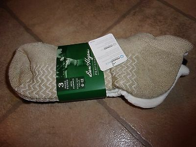 Ben Hogan Performance Low-Cut Socks 3 Pr PowerWick PowerAir Men's Shoe Size 6-12
