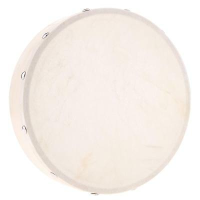 8 inch Hand Drum Hand Percussion Educational Toy for KTV Party Kids Toddlers