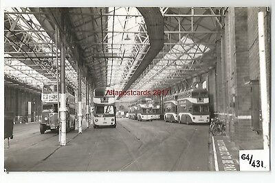 Manchester Trolleybus No:1206 Piccadilly Real Photo 62/166