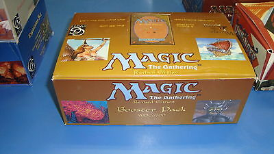 Magic the Gathering Mtg Empty Revised Booster box!