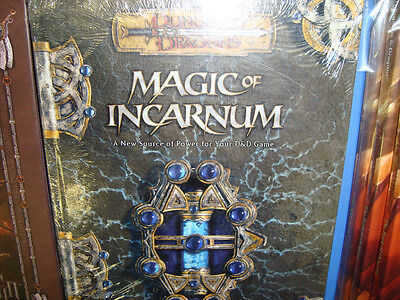 NEW! MAGIC OF INCARNUM New Dungeons and Dragons GAME Book 3.5