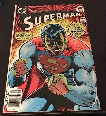 Superman #317 Classic Neal Adams Cover DC Bronze Age 1977 KEY Comic