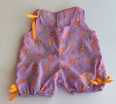 Cabbage Patch Doll Clothes -  Light Purple One Piece Cotton Outfit 10 Inch Doll