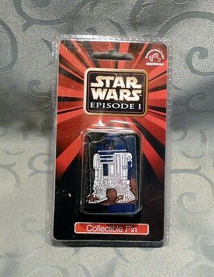Star Wars Applause R2 D2 Collectible Pin - Episode I - Factory Sealed