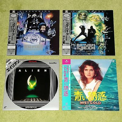 JAPAN LASERDISC COLLECTION/JOB LOT x 30 (Japanese) [Horror/Action/Drama/Sci-Fi]