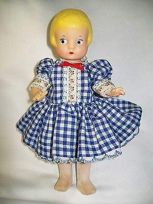 Effanbee Patsyette Wizard Of Oz Dorothy #9605 Strung Doll Storybook Series  8.5""