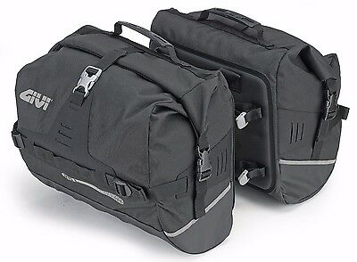 GIVI UT808 Waterproof Saddle Bags Softbags Side Bags Ultima-T Range 50 L Sidebag