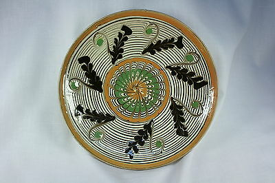 Plato Rumano decorativo. Cuenco. Escudilla. Decorative Romanian dish. Bowl.