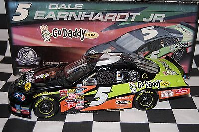 Dale Earnhardt Jr #5 GODADDY Chevrolet 1:24 scale NASCAR Die-Cast Damaged Box