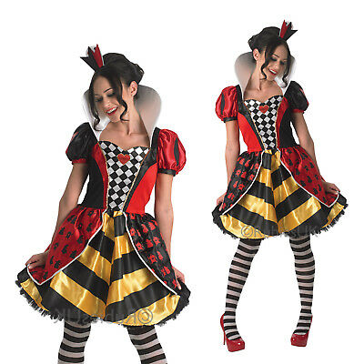 Rubies Ladies Official Wonderland Queen Of Hearts Womens Fancy Dress Costume  sc 1 st  PicClick UK & RUBIES FANCY DRESS costume Co. Inc Womens Dawn of Justice Wonder ...