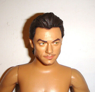 Disney Nude Doll Gaston Molded Hair Male Dole For Ooak db4