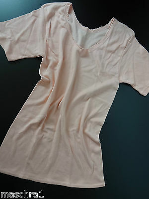 Vintage * Solida * Unterhemd * T-Shirt * Spencer Form* apricot