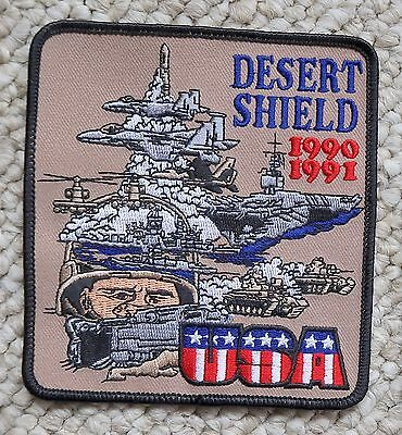 Operation Desert Shield Campaign War Military Iraq Kuwait Patch