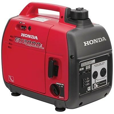Honda EU2000ic 2000 Watt Portable Companion Quiet Inverter Parallel Generator