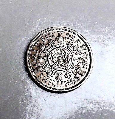 Elizabeth 1953 Florin/two-Shillings Unc