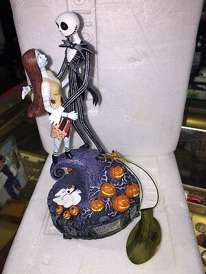 The Bradford Exchange The Nightmare Before Christmas Simply Meant To Be Near Mnt