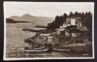 Skye - Station Hotel & Ferry Kyle Of Lochalsh c1930