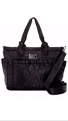 ~ NEW WITH TAGS ~ Marc By Marc Jacobs Pretty Black Eliza Baby Tote Diaper Bag
