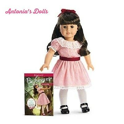 "American Girl BeForever Samantha 18"" Doll 18"" & Book New NIB"