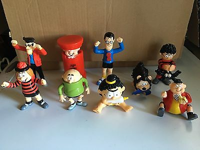 Dennis The Menace/Beano - Complete Set of 9 McDonalds Happy Meal Toys
