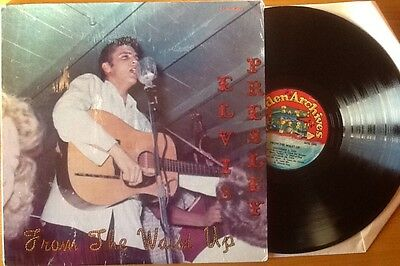 ELVIS PRESLEY - FROM THE WAIST UP Very Rare 'IMPORT' VINYL LP CLOSE TO NEAR MINT