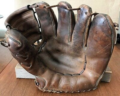 Harvey Haddix Rawlings Hh Vintage Baseball Glove