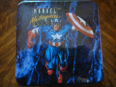 1993 Marvel Masterpieces Series 1 Limited Edition Tin Set ( Factory Sealed )