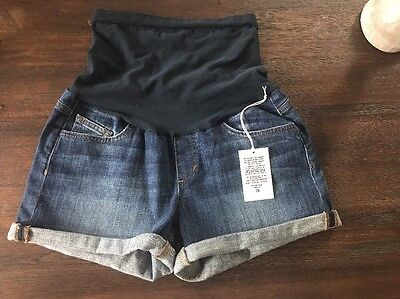 NWT JOE's Jeans Maternity Denim Shorts Emmie Size 28 New