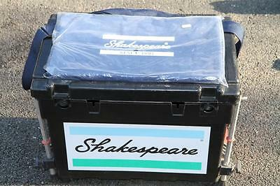 Shakespeare Team Seat Box With Cushion And Octoplus Legs In Good Order