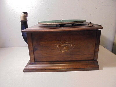Antique Columbia Grafonola Record Player Phonograph For Repair