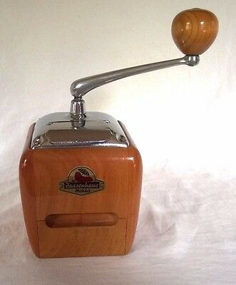 Rare Robert Zassenhaus German Mokka Coffee Grinder Beautiful Condition