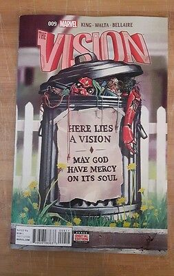 Vision #9 Marvel low print high grade