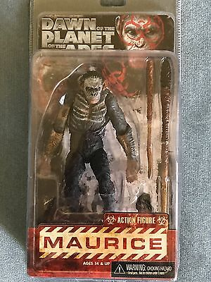 ERROR NECA DAWN of the PLANET of the APES KOBA ERROR WITH MAURICE LABEL NIP 2014