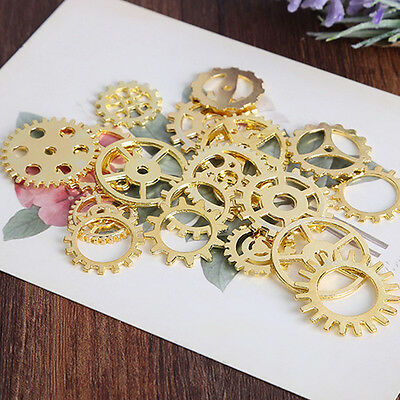 100g Vintage Steampunk Wrist Watch Parts Alloy Movement Gears DIY Gifts