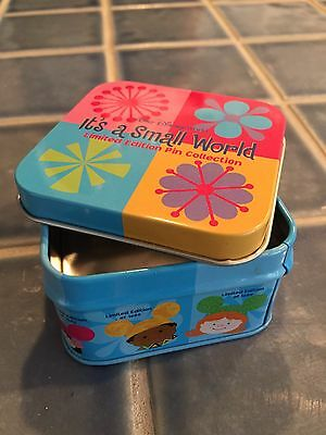 It's A Small World Pin Tin