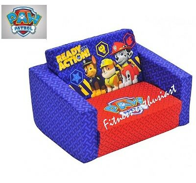 Kids flip out sofa bed fire rescue aud picclick au Toddler flip out sofa couch bed