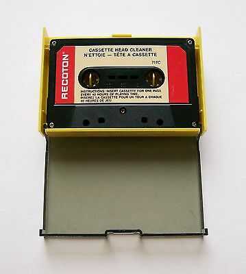 Recoton (Dry Type) Head Cleaning Cassette