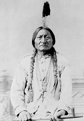 Sitting Bull 13x19 PHOTO Print * Native American Indian * Hunkpapa Lakota