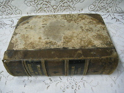 Antique 1866 Military History of Wisconsin civil War book first Edition ByQuiner