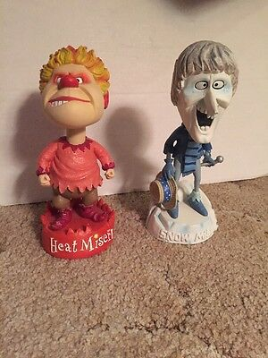 Heat And Snow Miser Bobbleheads Set Of 2