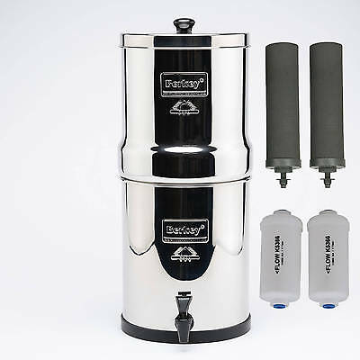 Royal Berkey 12.3 L Water Purifier + Fluoride-Free Ship Aust Wide From Melbourne