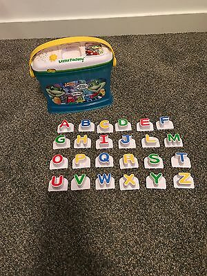 Leap Frog Letter Factory Alphabet Letters Bucket Word Phonics! InComplete!
