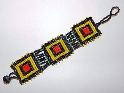 Nwot! - Colorful Hand-Made South African Beaded Bracelet