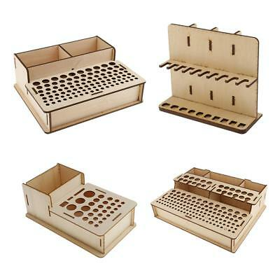 Leathercraft Punch Stamp Tools Stand Holder Home Tools Model Box Organizer Rack