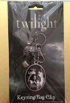 Twilight Official Neca Keyring Bag Clip Lion Lamb Bella Edward With Charms