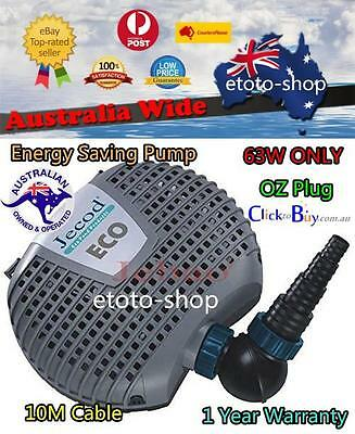 Jebao 10000L Super ECO 65W Soft Solid Submersible Garden Koi Fish Pond Pump
