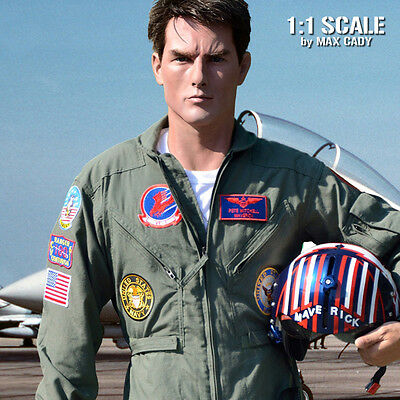 Screen Accurate TOPGUN Patches for Flight Suits, Maverick, Iceman, FREE SHIPPING
