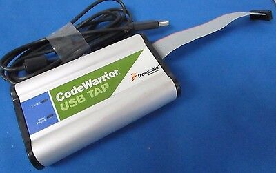 Freescale Code Warrior USB Tap JTag Interface 900-75115 Rev C Cop +USB 2.0 Cable