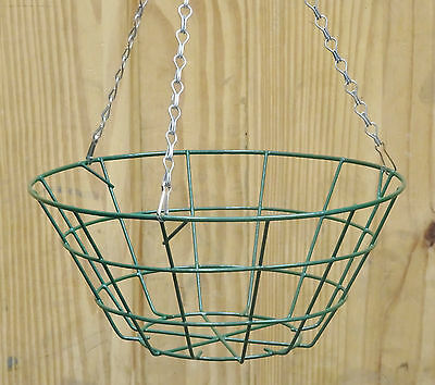 Joblot Pallet Wire Hanging Basket Baskets x 400 With Chains, Cheap Clearance