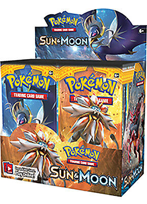 Pokemon TCG Cards Sun and Moon Booster Pack -Brand New & Sealed